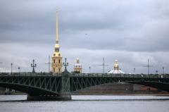 В Петербурге состоялось торжественное открытие Троицкого моста через реку Неву