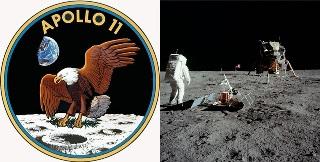 """Экипаж """"Аполлон-11"""" вышел на поверхность Луны"""
