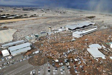 В Японии произошло самое мощное землетрясение магнитудой 8,9 баллов