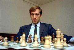 Бобби Фишер в возрасте 13 лет стал чемпионом США по шахматам