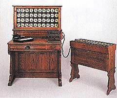 Германом Холлеритом изобретена первая электрическая вычислительная машина